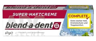 blend-a-dent EXTRA STARK FRISH complete super fixačný dentálny krém 1x47 g