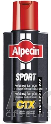 ALPECIN SPORT Kofeínový šampón CTX 1x250 ml