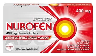 NUROFEN 400 mg tbl obd (blis.) 1x12 ks