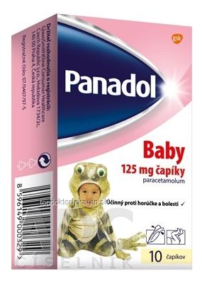 Panadol Baby sup 125 mg 1x10 ks