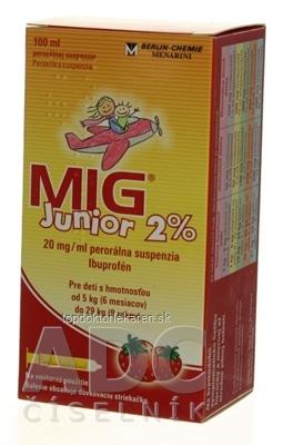 MIG Junior 2% sus por 1x100 ml