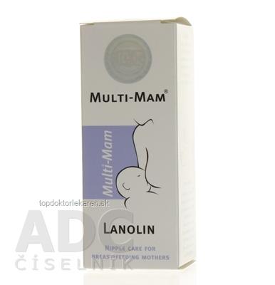 MULTI-MAM LANOLIN krém 1x30 ml