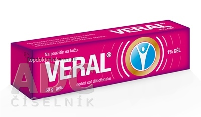 VERAL 1 % GÉL gel (tuba lamin.) 1x50 g