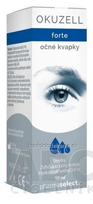 OKUZELL forte očné kvapky 1x10 ml