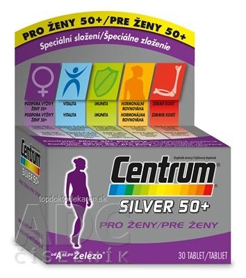 Centrum Silver 50+ pre ženy tbl 1x30 ks