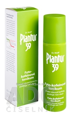 Plantur 39 Fyto-kofeinové tonikum 1x200 ml