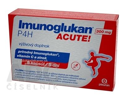 Imunoglukan P4H ACUTE 300 mg cps 1x5 ks