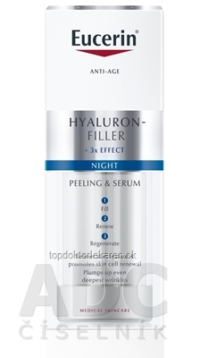 Eucerin HYALURON-FILLER Nočné sérum Anti-Age obnovujúce a vypĺňajúce 1x30 ml