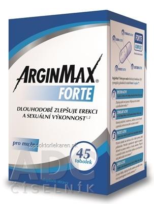 ARGINMAX FORTE pre mužov cps 1x45 ks