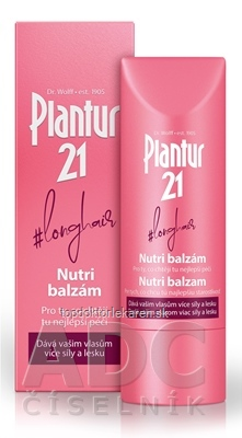 Plantur 21 longhair Nutri balzam 1x175 ml
