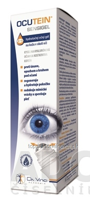 OCUTEIN SENSIGEL - DA VINCI hydratačný očný gél 1x15 ml
