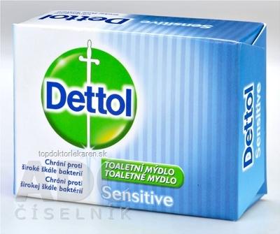 Dettol toaletné mydlo Sensitive 1x100 g