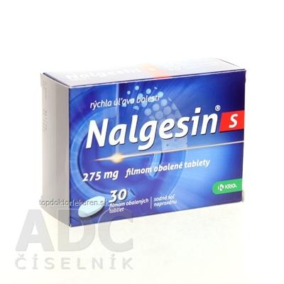 Nalgesin S tbl flm 275 mg (blis.Al/PVC) 1x30 ks