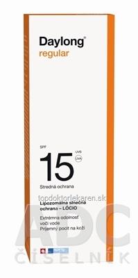 Daylong regular SPF 15 lócio (mlieko na opaľovanie) 1x200 ml