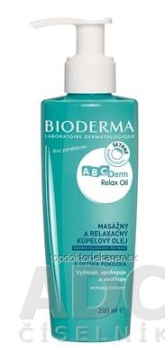 BIODERMA ABCDerm Relax Oil masážny a kúpeľový olej 1x200 ml