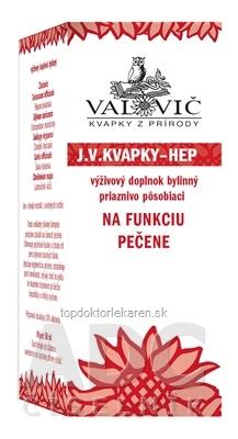 J.V. KVAPKY - HEP na funkciu pečene 1x50 ml