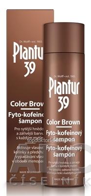 Plantur 39 Color Brown Fyto-kofeínový šampón 1x250 ml
