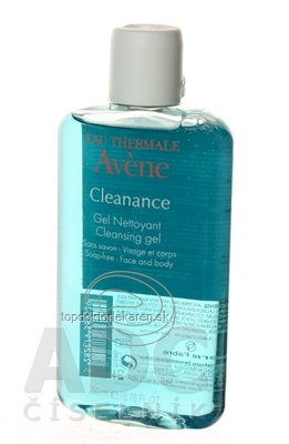 AVENE CLEANANCE GEL NETTOYANT čistiaci gél bez mydla 1x200 ml