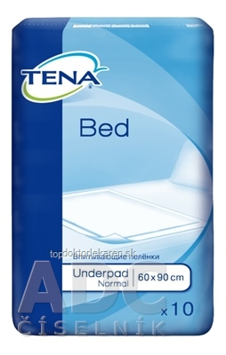 TENA BED NORMAL podložka pod pacienta (60x90 cm) 1x10 ks