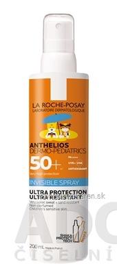 LA ROCHE-POSAY ANTHELIOS SHAKA SPRAY SPF50+ sprej na opaľovanie pre deti 1x200 ml