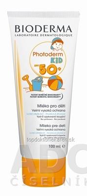 BIODERMA Photoderm KID SPF 50+ (AKCIA) mlieko na opaľovanie 1x100 ml