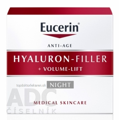Eucerin HYALURON-FILLER+Volume-Lift Nočný krém Anti-Age 1x50 ml