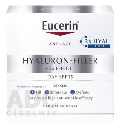 Eucerin HYALURON-FILLER Denný krém Anti-Age pre suchú pleť 1x50 ml