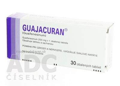 GUAJACURAN tbl obd 200 mg (blis.Al/PVC) 1x30 ks